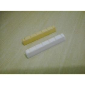 Pestana Nut Violão Clássico Nylon (osso E Plástico)