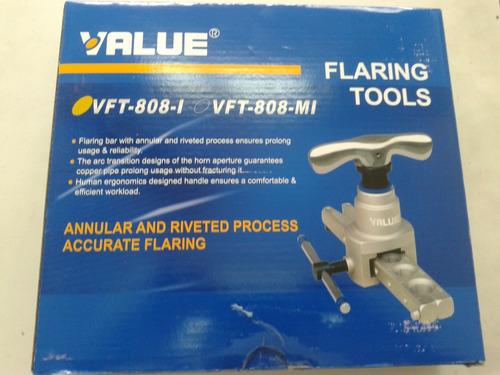 pestañadora value excentrica refrigeracion para r410a
