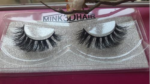 pestañas de mink 3d hair