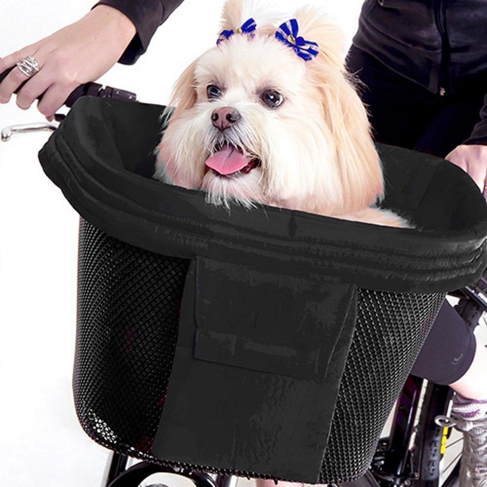 Bolsa Para Levar Cachorro Na Bicicleta : Pet bike cesto passeio cachorro bicicleta compras com
