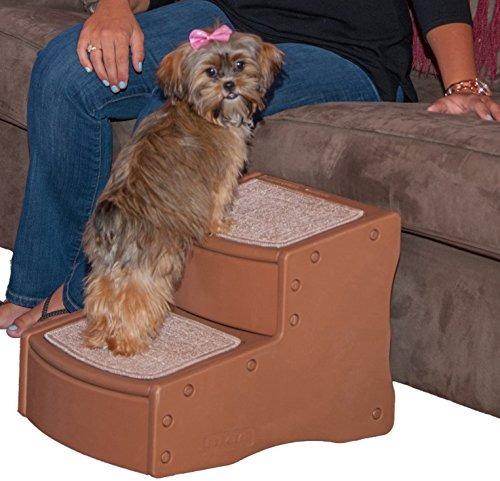 pet gear fácil paso ii mascota escaleras, 2-step / para gat