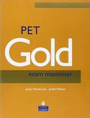 pet gold exam maximiser by newbrook & wilson nuevo oferta