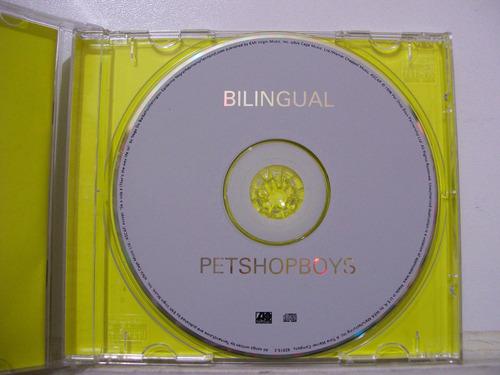 pet shop boys, bilingual, cd original importado
