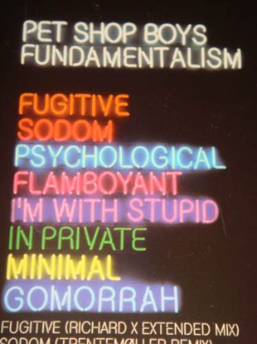 pet shop boys fundamental special edition 2 cd no madonna