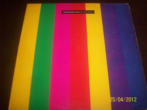 pet shop boys introspective vinyl lp 1988 emi records españa