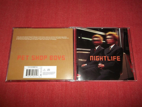 pet shop boys - nightlife cd nac ed 1999 mdisk