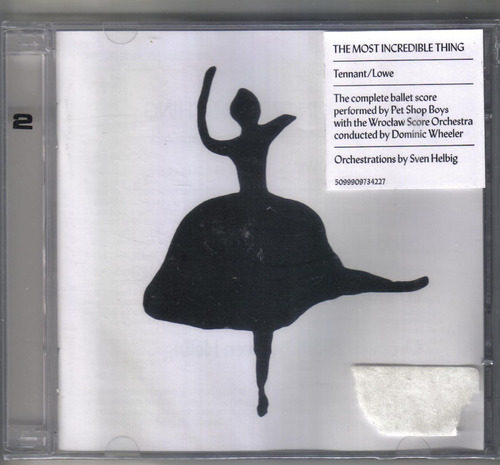 pet shop boys - the most incredible thing - cd novo-cd duplo