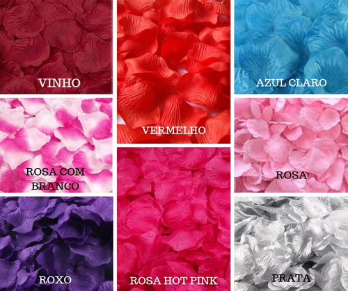 pétalas de flor artificiais rosa kit  pronta entrega