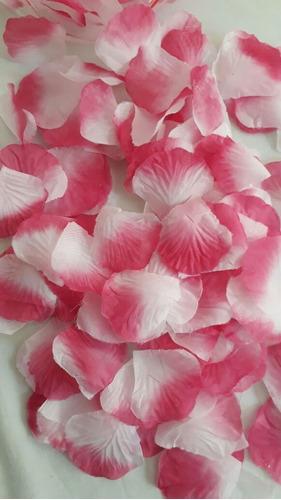 petalos de rosa  artificiales.( mil unidades)