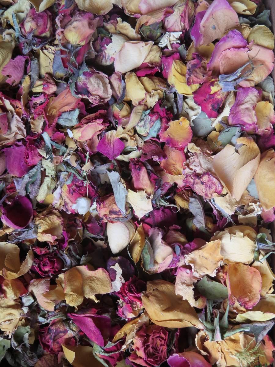 Petalos De Rosa Flores Secas 15000 En Mercado Libre