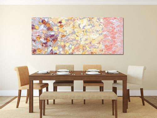 petalos tenues cuadro decorativo  lienzo canvas