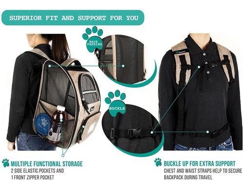 petami - mochila de transporte para perros y gatos pequeñ