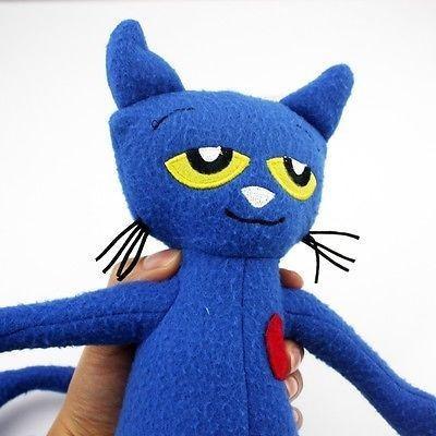 pete el gato muñeca de la felpa suave figura 14  colecc-7750