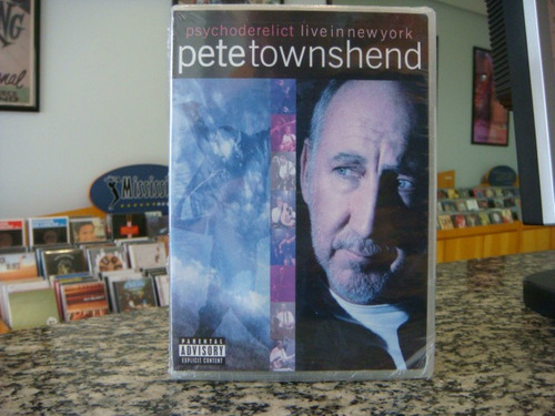 pete townshend - psychoderelict live in ny (dvd)