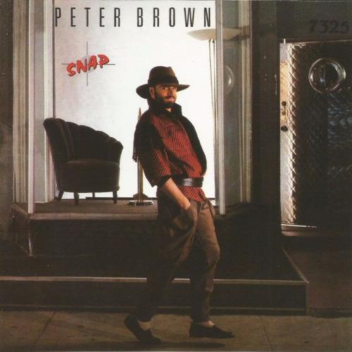 peter brown / snap / cd / u.s.a. / bonus tracks sellado