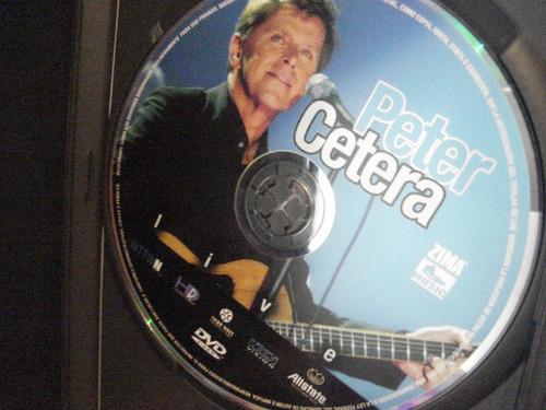 peter cetera dvd live   seminuevo