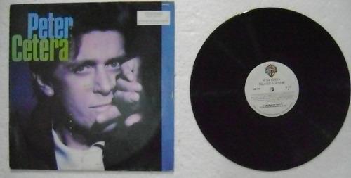 peter cetera / solitude solitaire  1 disco lp vinilo