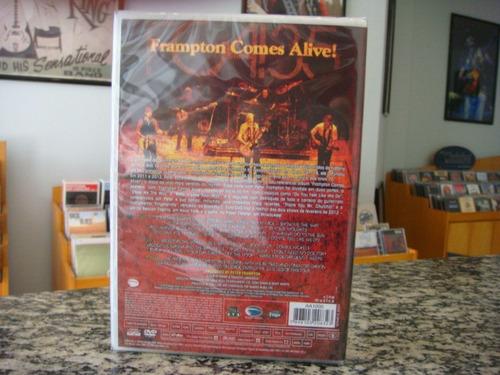 peter frampton - fca!35 tour an evening with pf (dvd duplo)