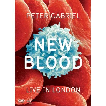 peter gabriel ( genesis ) - new blood -live in london -dvd