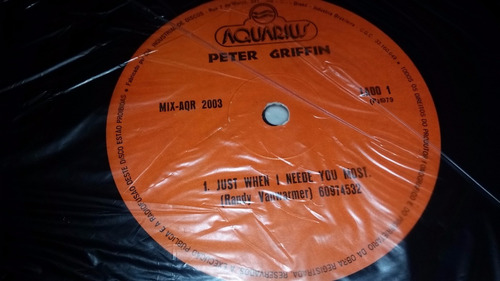 peter griffin just when i needed you most vinilo maxi raro