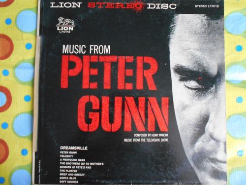 peter gunn lp music from henry mancini
