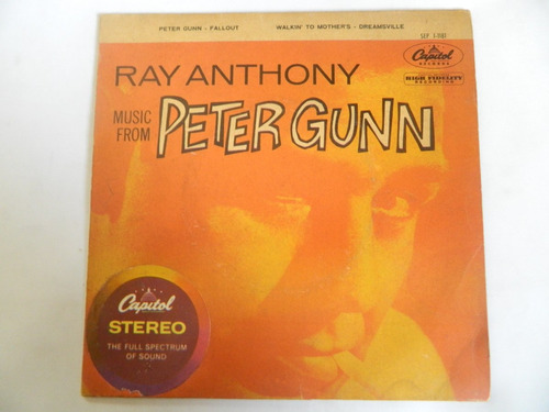 peter gunn - ray anthony and his orchestra - compacto ep 7