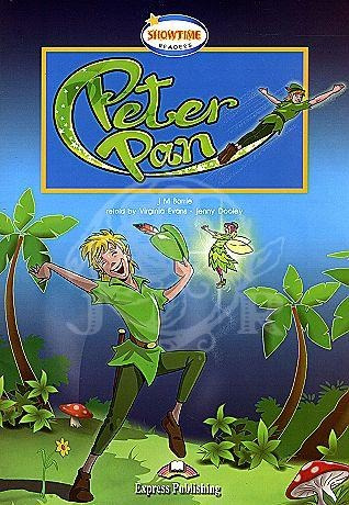 peter pan book showtime readers level 1 with cd de express p