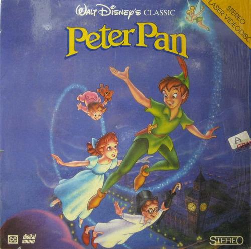 peter pan ld laserdisc peter pan impecável