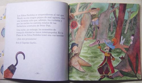 peter pan libro + cd / editorial sol 90
