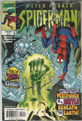 peter parker spider-man 03 - marvel 3 - bonellihq cx72 g19
