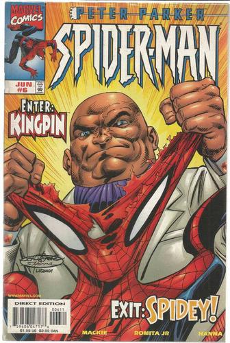 peter parker spider-man 06 - marvel - bonellihq cx72 g19