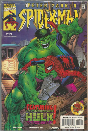 peter parker spider-man 14 - marvel - bonellihq cx72 g19