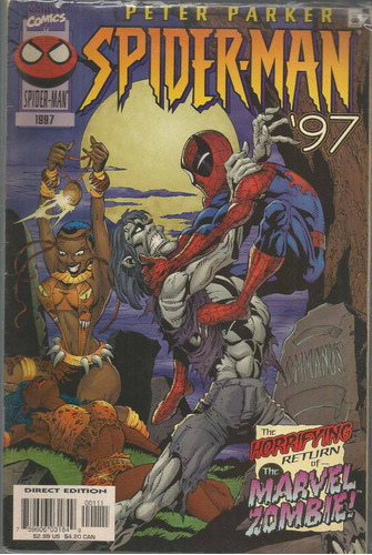 peter parker spider-man 1997 - marvel - bonellihq cx72 g19