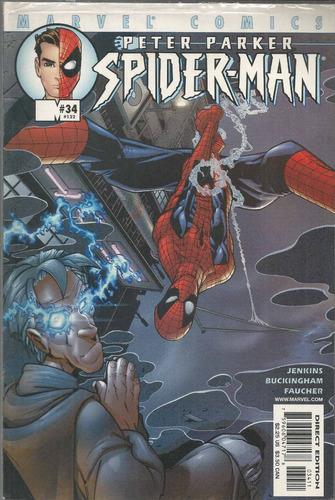 peter parker spider man 34 - marvel - bonellihq cx72 k17
