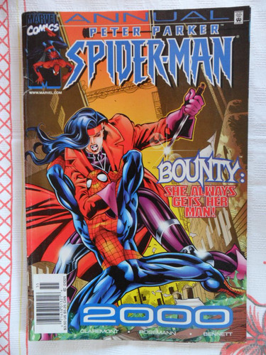 peter parker  spider-man annual! americana! r$ 15,00!