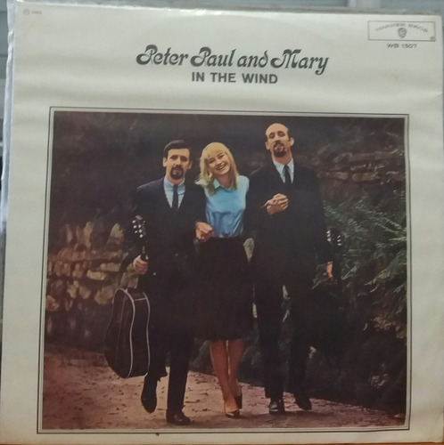 peter, paul and mary - in the wind - 1965 (lp mono)