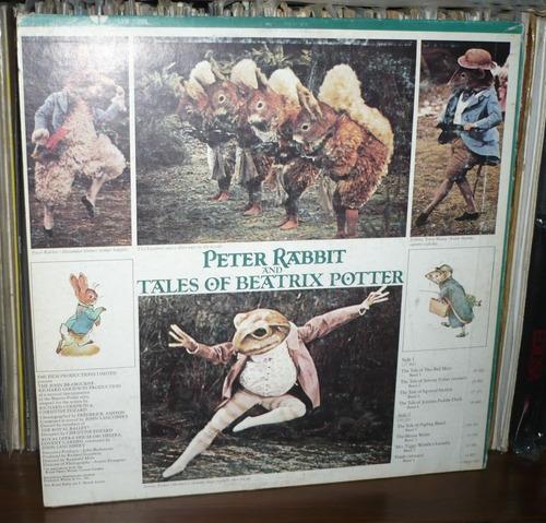peter rabbit & beatriz potter lp lanchbery  soundtrack