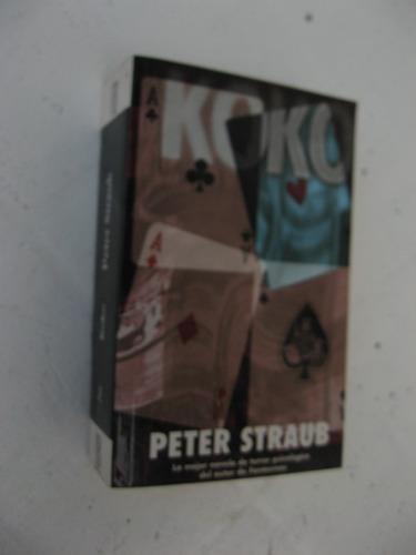 peter straub - koko - ediciones b vib pocket