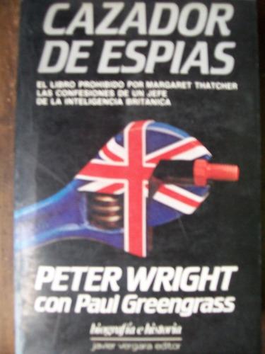 peter wright - cazador de espías