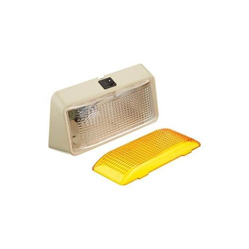 peterson manufacturing v385s luz de porche con interruptor