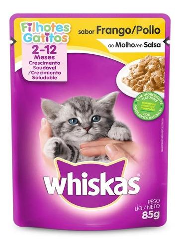 petisco ração whiskas