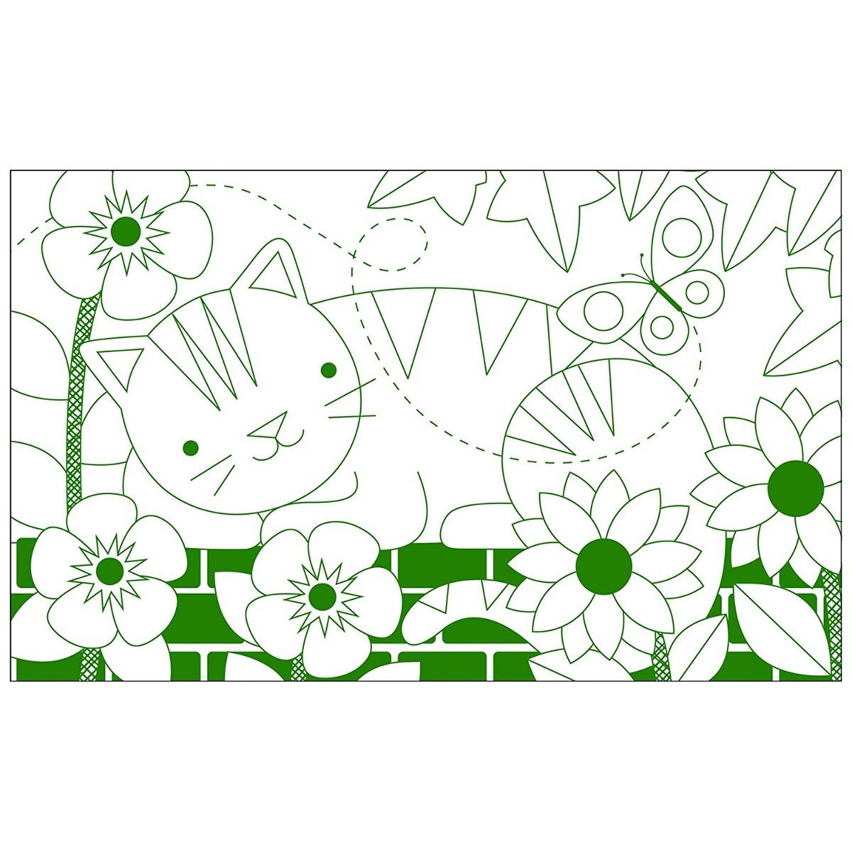 Petit Collage Libro Para Colorear, En El Jardín - $ 1,082.88 en ...