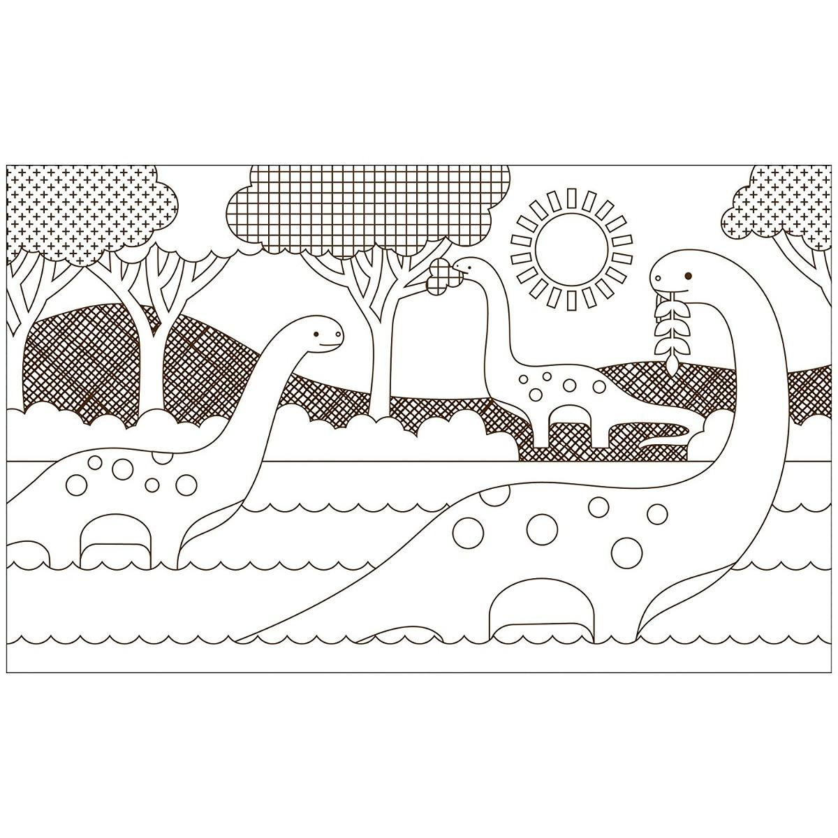 Petit Collage Libro Para Colorear, Los Dinosaurios - $ 1,082.88 en ...