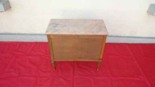 petit comoda mesa comodin luis xvi antiguo 3 cajones miralo