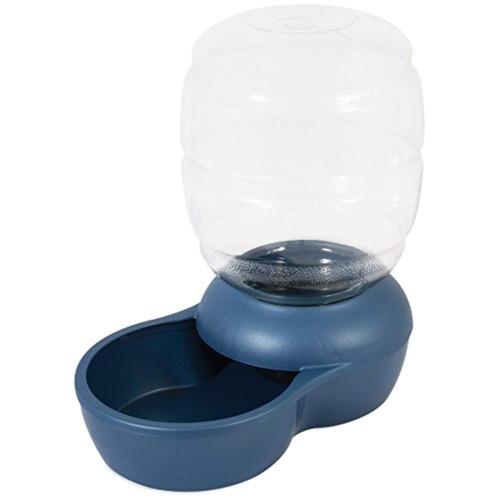 petmate bebedero le bistro 1 gal, color azul, 3.8 litros