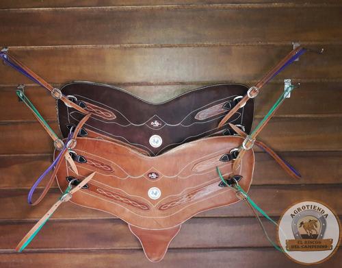 peto snake horse cuero caballos de coleo petos pecheras