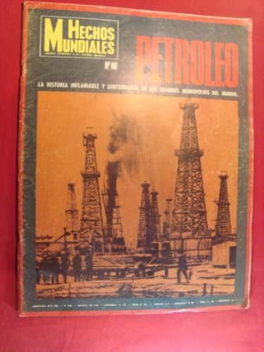 petroleo, hechos mundiales.