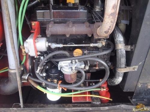 petrolizadora remolcable tapa baches pavimentadora 7636
