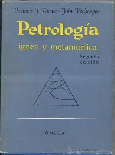 petrología ígnea y metamórfica, libros de geología