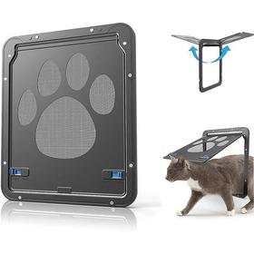 Pets Cachorro Gatos Puerta Cierre Magnético B